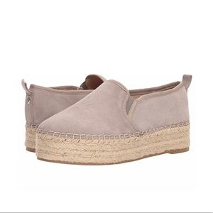 Sam Edelman Carrin Platform Espadrille, Putty, 8.5
